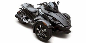 2009 Can-Am Spyder GS Phantom Black Limited Edition SM5