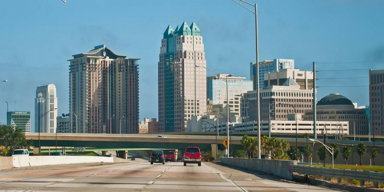 Florida, Orlando Skyline