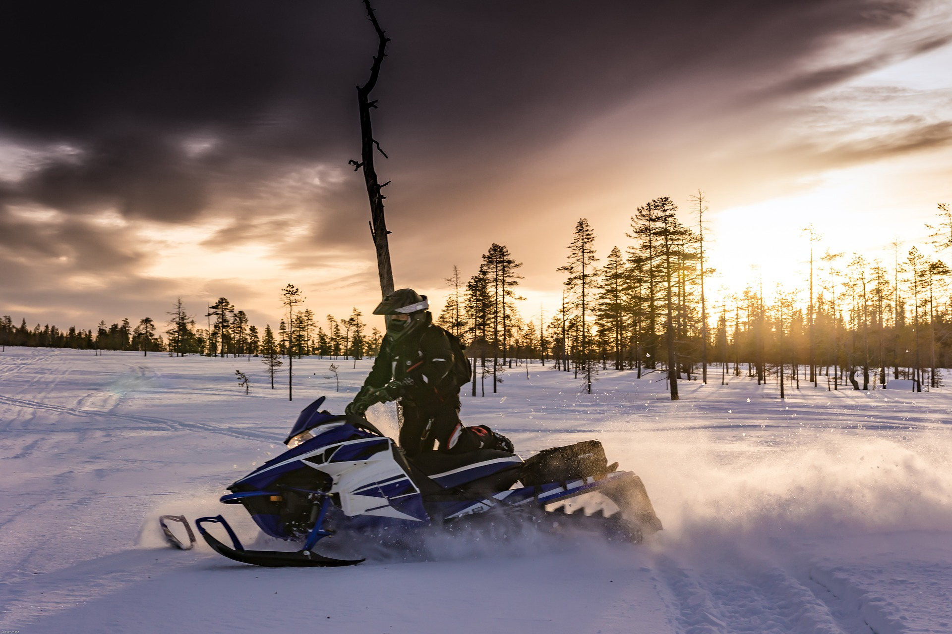 ATV and Snowmobile For Powersport Fun This Winter Season