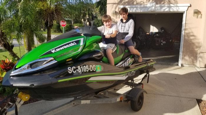 Personal Watercraft: Kawasaki Jet Ski Ultra 310 LX